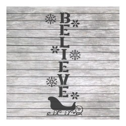 Christmas painting stencil...