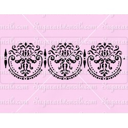 Wedding cake stencil SL20236