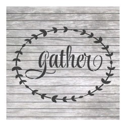 Gather painting stencil NW013