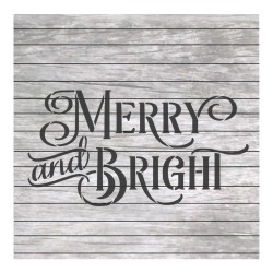 Christmas words Merry and...