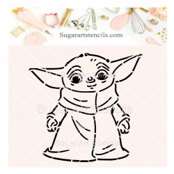 Baby Yoda PYO cookie...