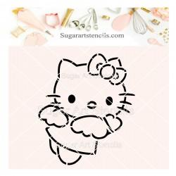 Hello kitty PYO cookie...