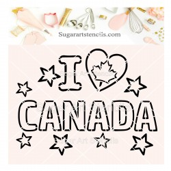Canada day PYO cookie...