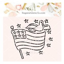 USA flag Independence day...