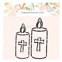 First communion candles PYO...