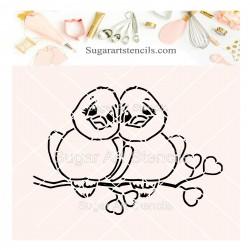 Valentine's day love birds...