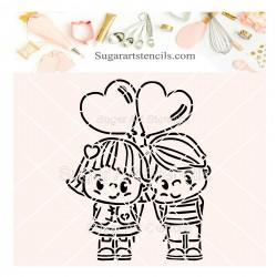 Valentine's day cute couple...