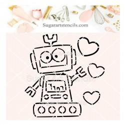 Valentine's day robot PYO...