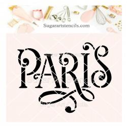 Paris cookie stencil SV117