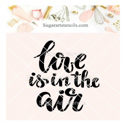 Love is in the air cookie...