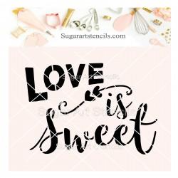 Love is sweet cookie...