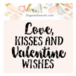 Love kisses and Valentine...