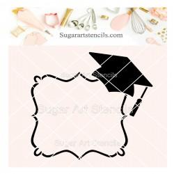 Graduation frame plaque...