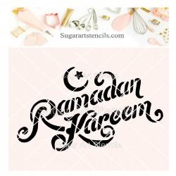 Ramadan cookie stencil J0050