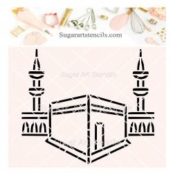 Mecca PYO cookie stencil...