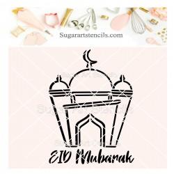 Eid Mubarak mosque PYO...