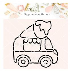 Ice cream truck PYO cookie...