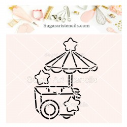 Ice cream cart PYO cookie...