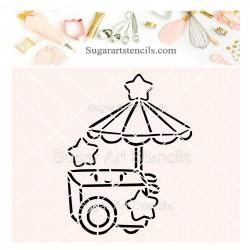 Ice cream cart PYO cookie...