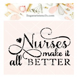 Nurses make it all better...