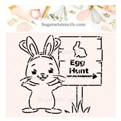 Easter bunny egg hunt PYO...