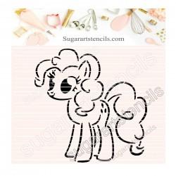 Little pony PYO cookie...