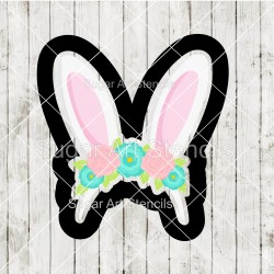 Easter floral bunny ears...