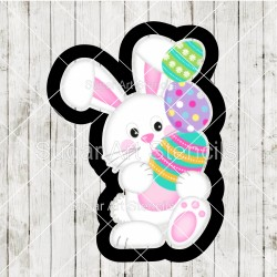 Easter bunny cookie cutter...