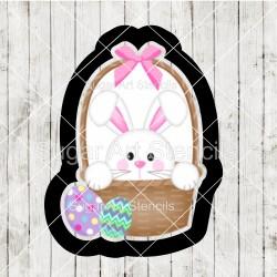 Easter egg basket cookie...