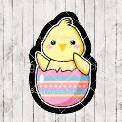 Easter chick cookie cutter...