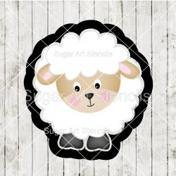 Lamb cookie cutter P0114