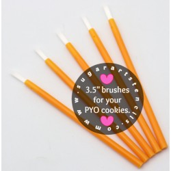 PYO cookie brushes ORANGE...