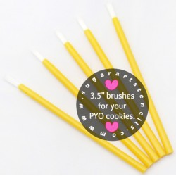 PYO cookie brushes YELLOW...