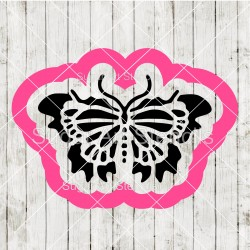 Butterfly cookie cutter and...