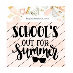 School's out for summer...