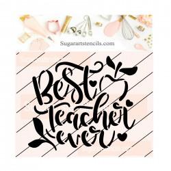Best teacher ever cookie...