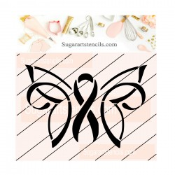 Awareness butterfly ribbon...