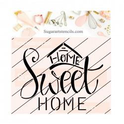 Home sweet home cookie...