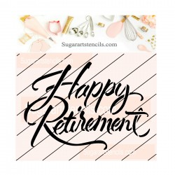Happy retirement cookie...