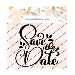 Save the date cookie...