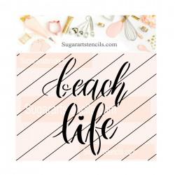 Summer beach life cookie...
