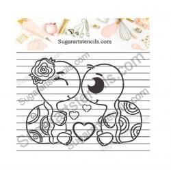 PYO Cookie stencil...