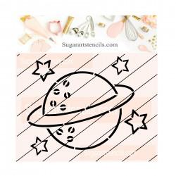 Planet PYO cookie Stencil...