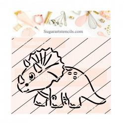 Dinosaur PYO cookie Stencil...