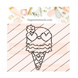 Ice cream cone Summer PYO...