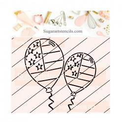 4th of July balloons PYO...