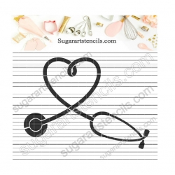 Nurse Stethoscope cookie...