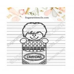 PYO Cookie stencil boy and...