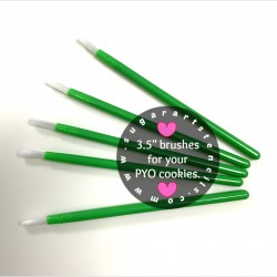PYO cookie brushes GREEN...