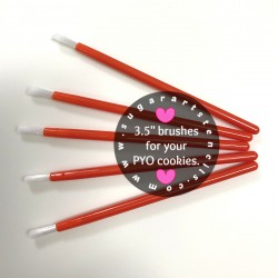PYO cookie brushes RED...